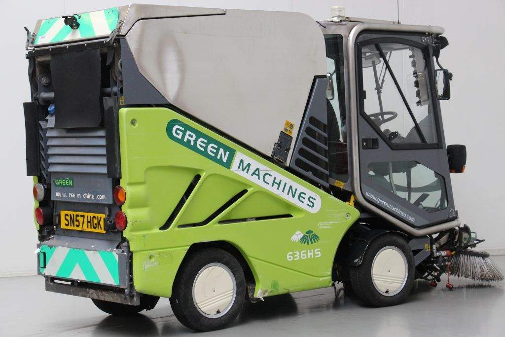 Applied Sweeper 636HS Street cleaning machine http://www.bsforklifts.com