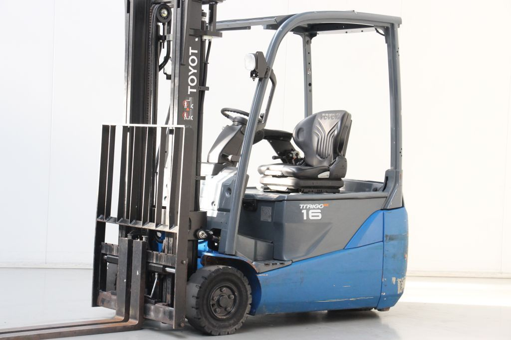 Toyota 8FBE16T Electric 3-wheel forklift www.bsforklifts.com