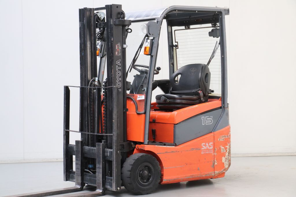 Toyota 7FBEST15 Electric 3-wheel forklift www.bsforklifts.com