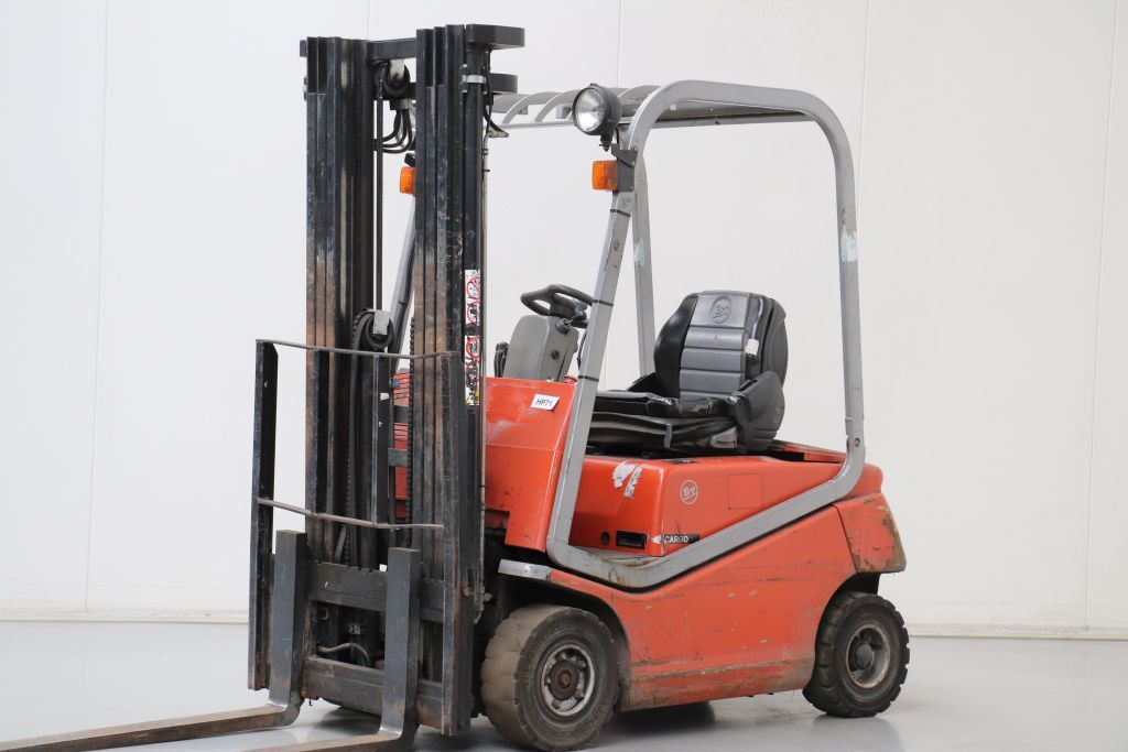BT C4E150 Electric 4-wheel forklift www.bsforklifts.com