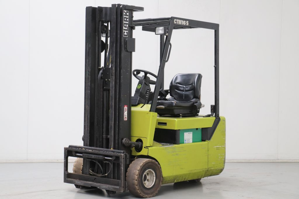 Clark CTM16S Electric 3-wheel forklift www.bsforklifts.com