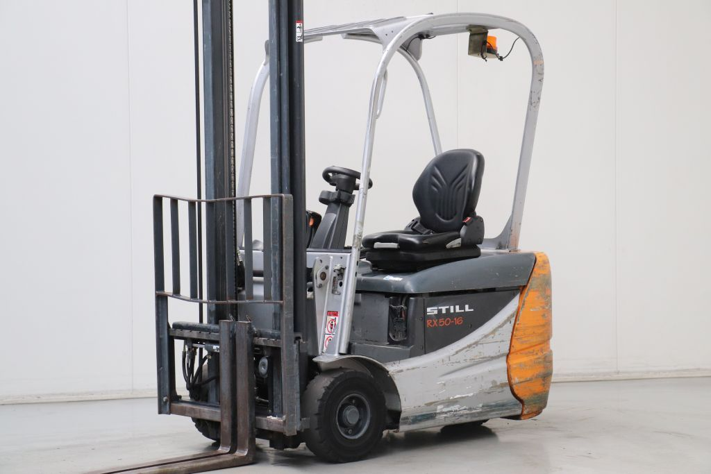 Still RX50-16 Electric 3-wheel forklift www.bsforklifts.com
