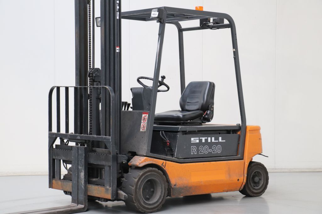 Still R20-20 Electric 4-wheel forklift www.bsforklifts.com