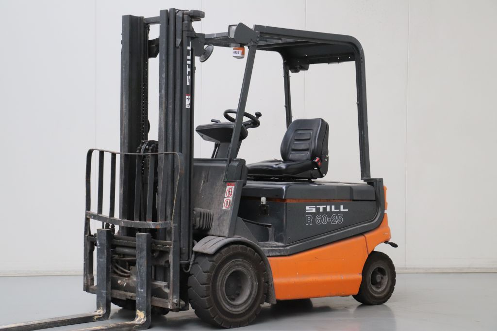 Still R60-25 Electric 4-wheel forklift www.bsforklifts.com