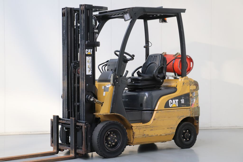 Caterpillar GP18N LPG Forklifts www.bsforklifts.com