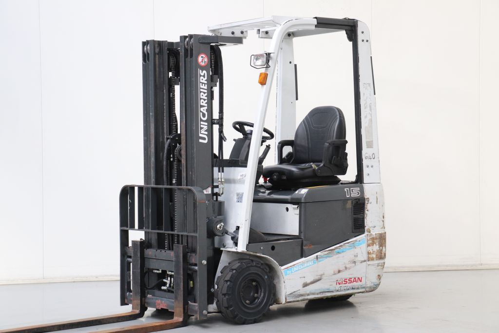 UniCarriers AS1N1L15Q Electric 3-wheel forklift www.bsforklifts.com