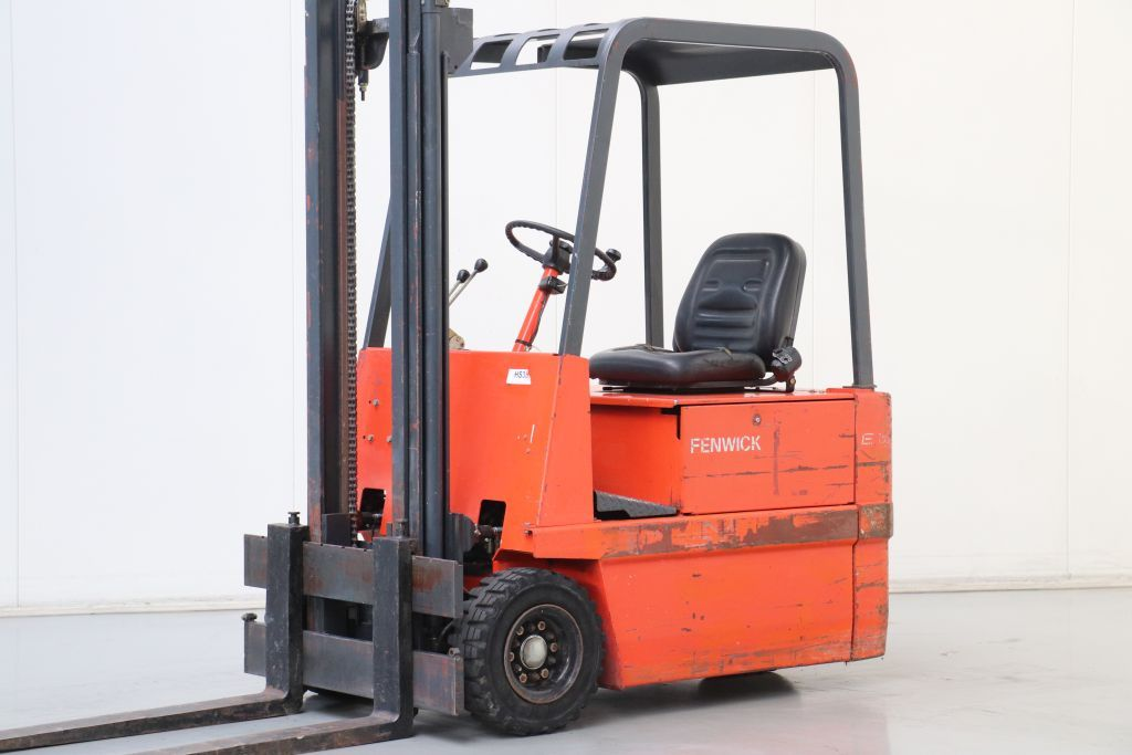 Fenwick E15R Electric 3-wheel forklift www.bsforklifts.com