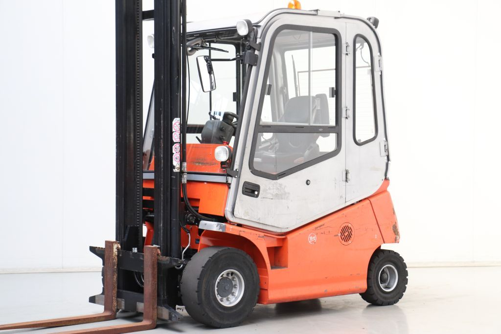 BT C4E250V Electric 4-wheel forklift www.bsforklifts.com