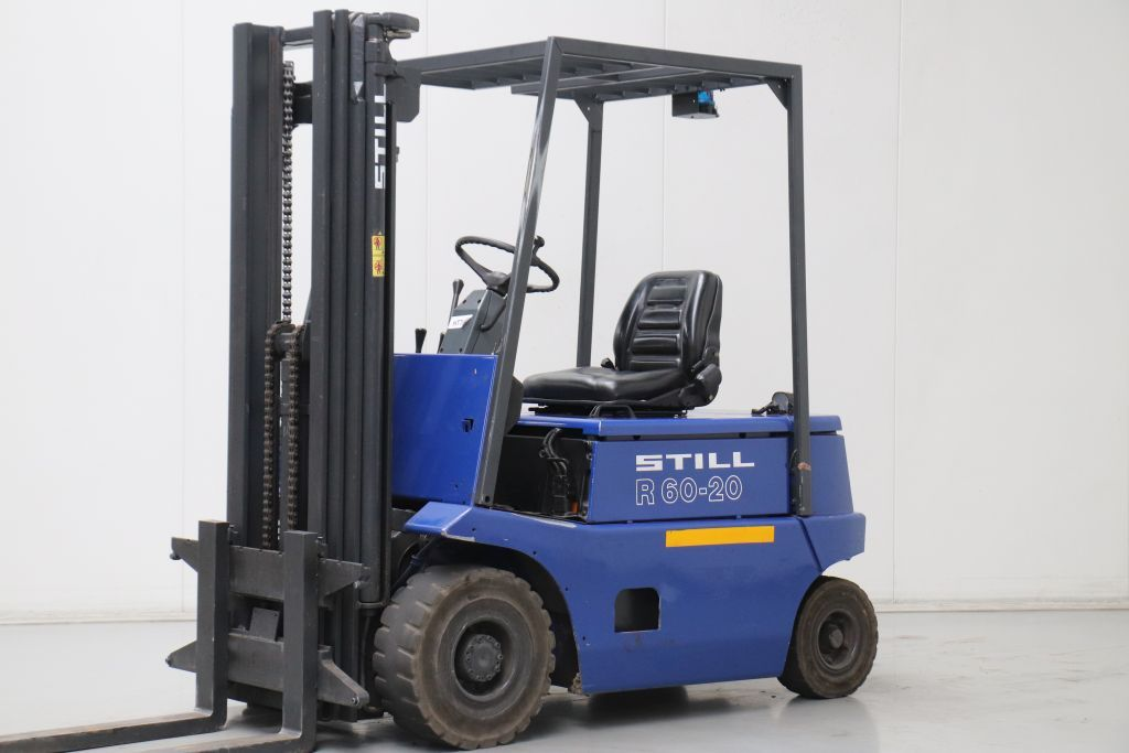 Still R60-20 Electric 4-wheel forklift www.bsforklifts.com