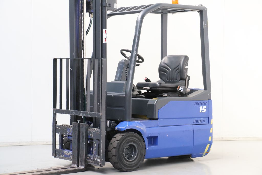 Fiat EU3/15 Electric 3-wheel forklift www.bsforklifts.com