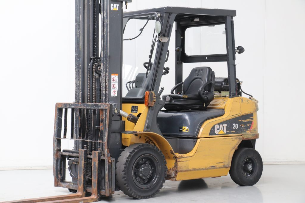 Caterpillar GP20NT LPG Forklifts www.bsforklifts.com