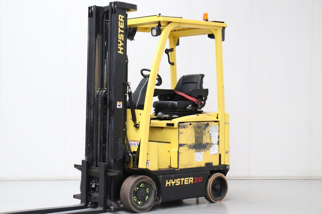 Hyster E2.0XN Electric 4-wheel forklift www.bsforklifts.com