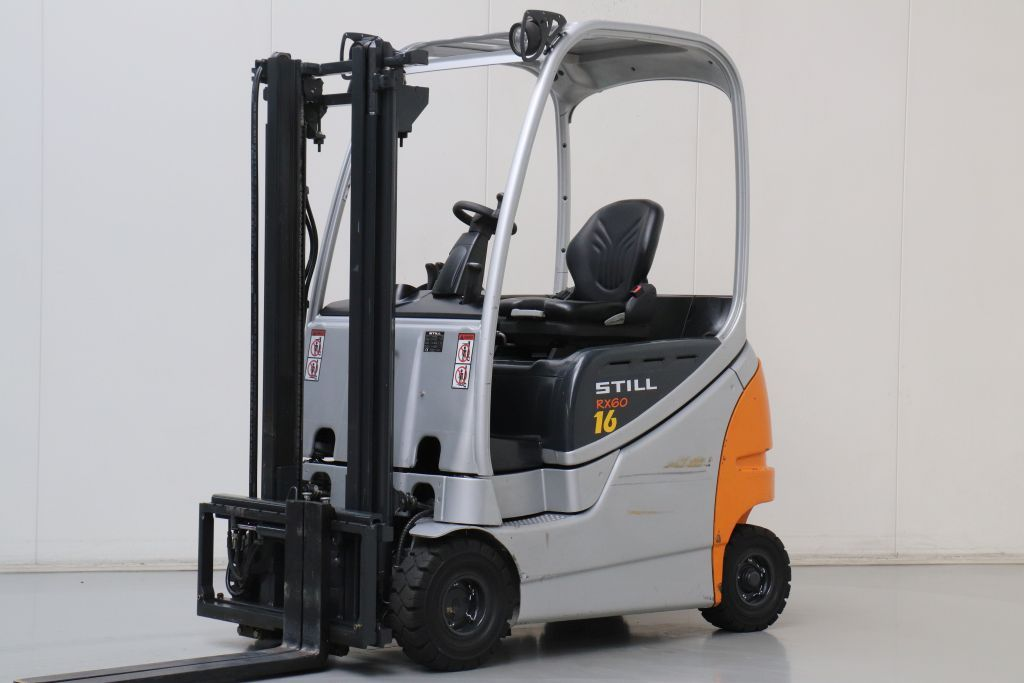 Still RX60-16 Electric 4-wheel forklift www.bsforklifts.com