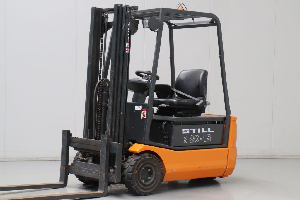 Still R20-15 Electric 3-wheel forklift www.bsforklifts.com