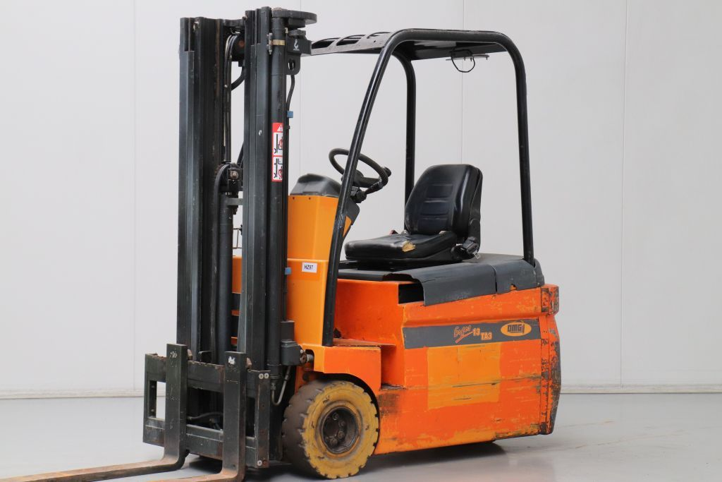 OMG ERGOS 13 TA 3 Electric 3-wheel forklift www.bsforklifts.com