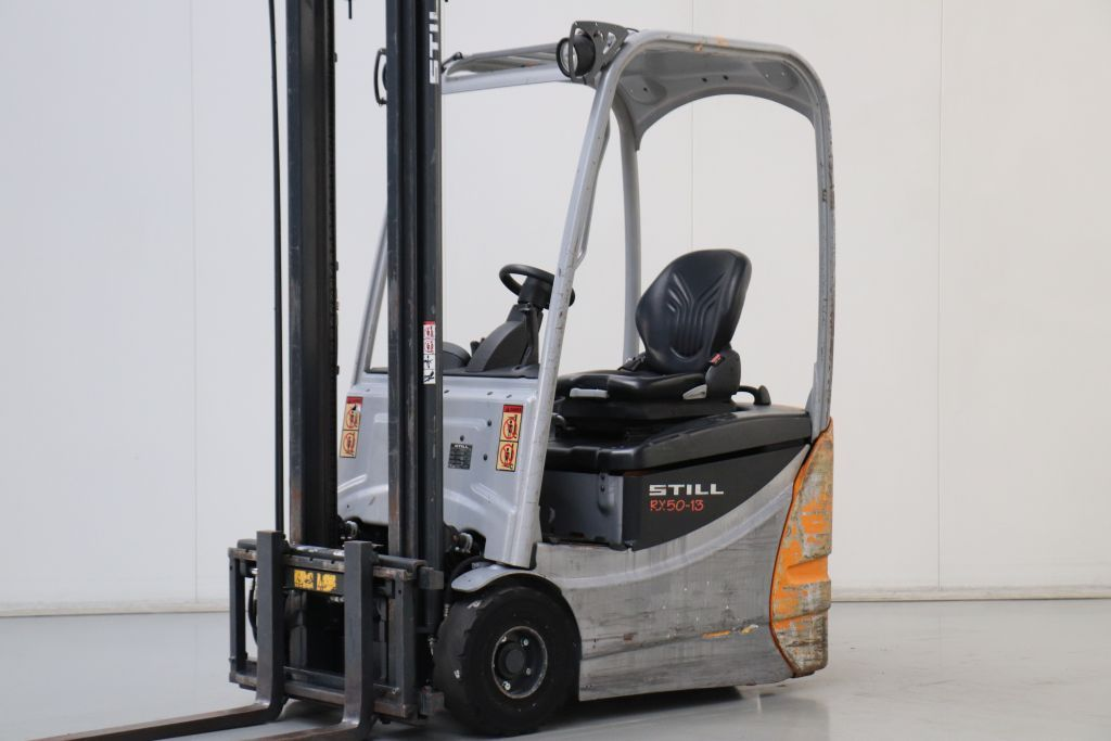 Still RX50-13 Electric 3-wheel forklift www.bsforklifts.com