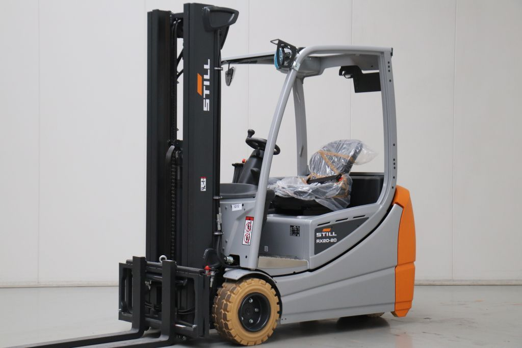 Still RX20-20L Electric 3-wheel forklift www.bsforklifts.com