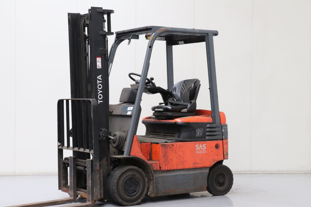 Toyota 7FBMF16 Electric 4-wheel forklift www.bsforklifts.com