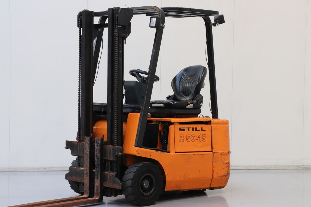 Still R50-15 Electric 3-wheel forklift www.bsforklifts.com