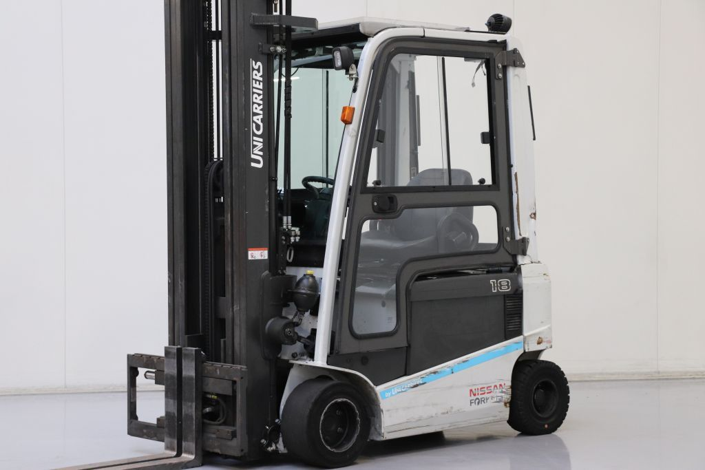 UniCarriers JAG1N1L18Q Electric 4-wheel forklift www.bsforklifts.com