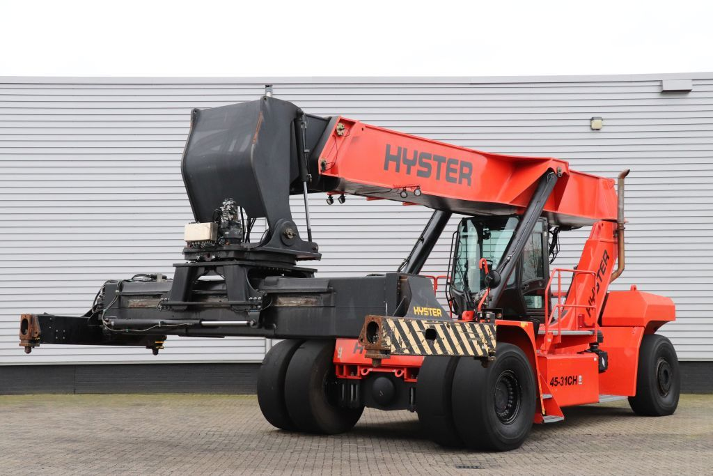 Hyster RS45-31CH Reach-stacker per container pieni www.bsforklifts.com