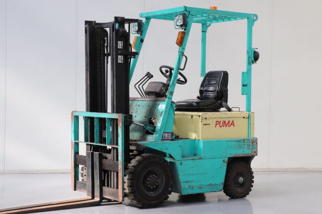 Puma FB15 Electric 4-wheel forklift www.bsforklifts.com