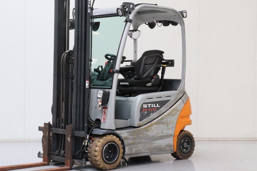 Still RX20-16P Electric 4-wheel forklift www.bsforklifts.com