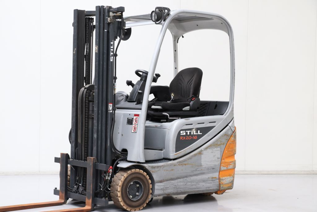 Still RX20-16 Electric 3-wheel forklift www.bsforklifts.com