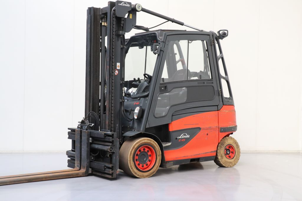 Linde E45H-01/600 Elettrico 4 ruote www.bsforklifts.com
