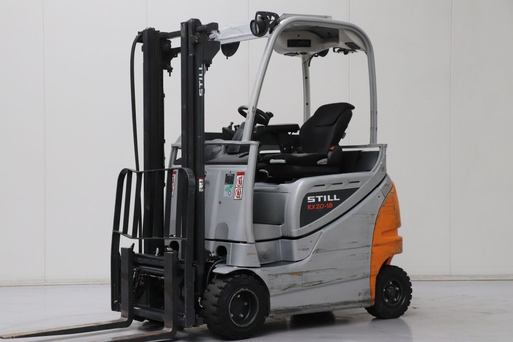 Still RX20-18P/H Electric 4-wheel forklift www.bsforklifts.com