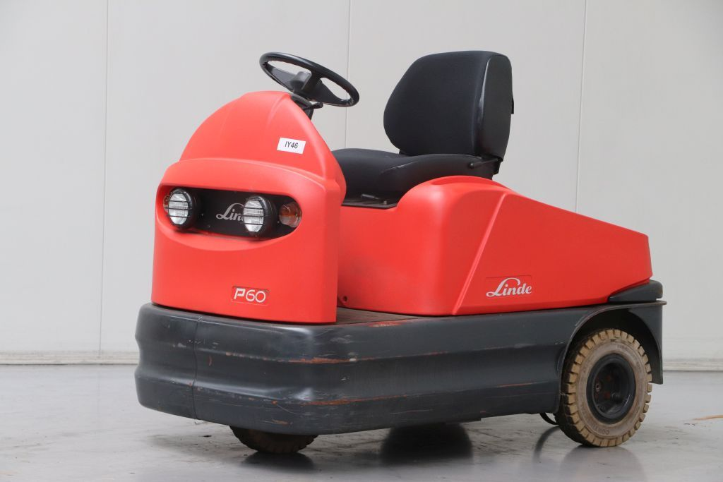 Linde P60 Tow Tractor www.bsforklifts.com