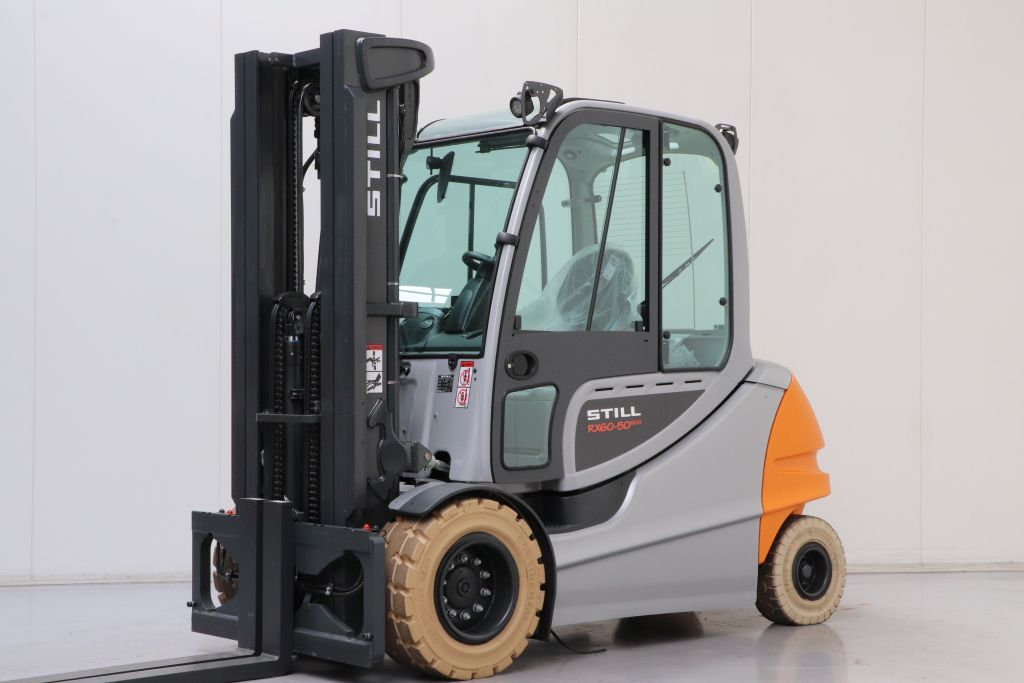 Still RX60-50/600 Electric 4-wheel forklift www.bsforklifts.com