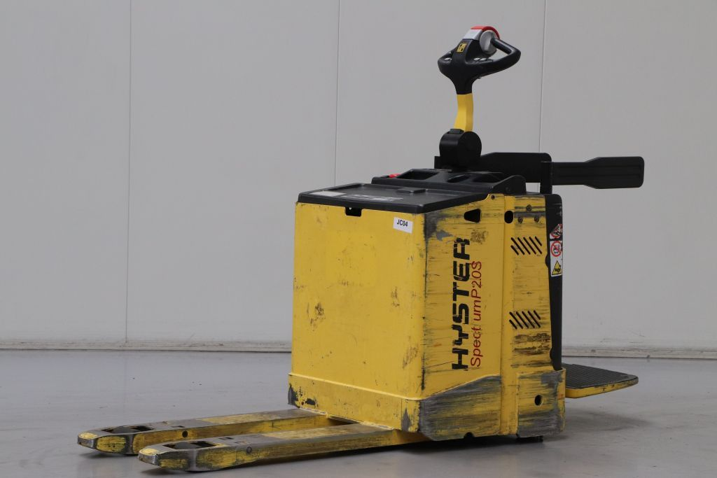 Hyster P2.0S FBW Электротележка www.bsforklifts.com