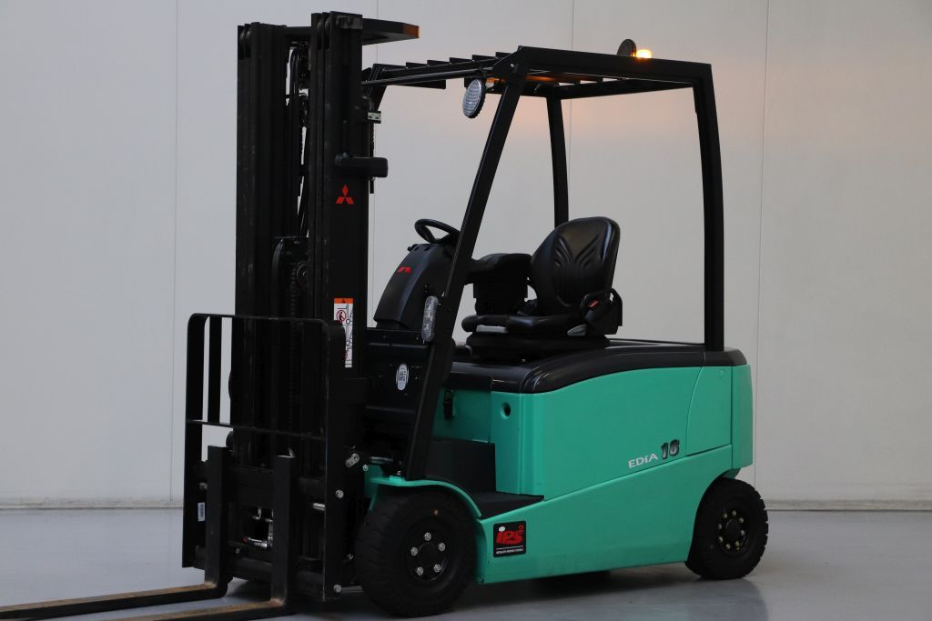 Mitsubishi FB18PN Electric 4-wheel forklift www.bsforklifts.com
