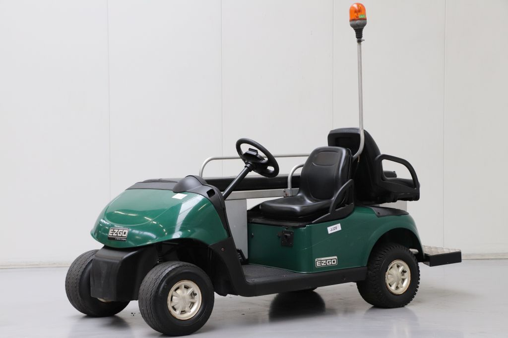 EZGO RXV Ambulance Golf Cart www.bsforklifts.com