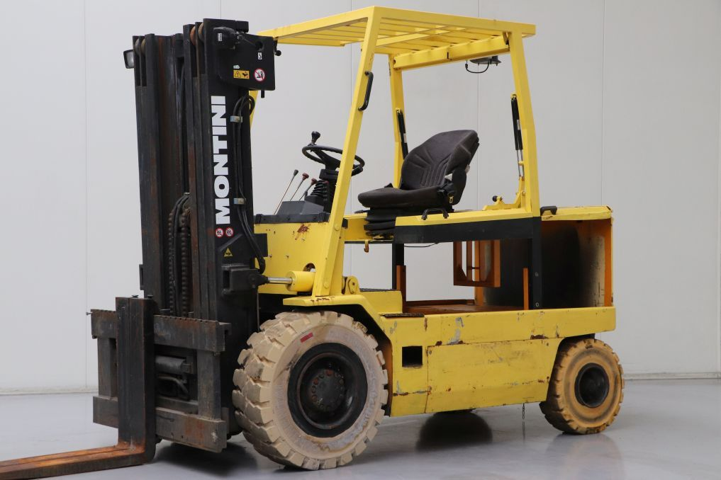 Montini 5000.A.CE Electric 4-wheel forklift www.bsforklifts.com