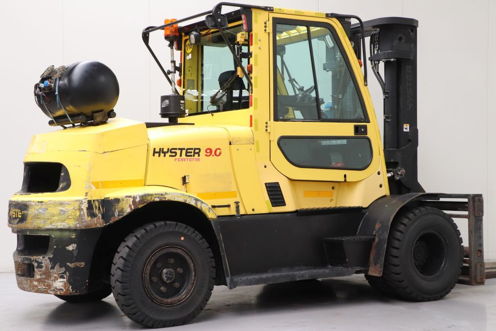 Hyster H9.0FT Heavy Forklifts www.bsforklifts.com