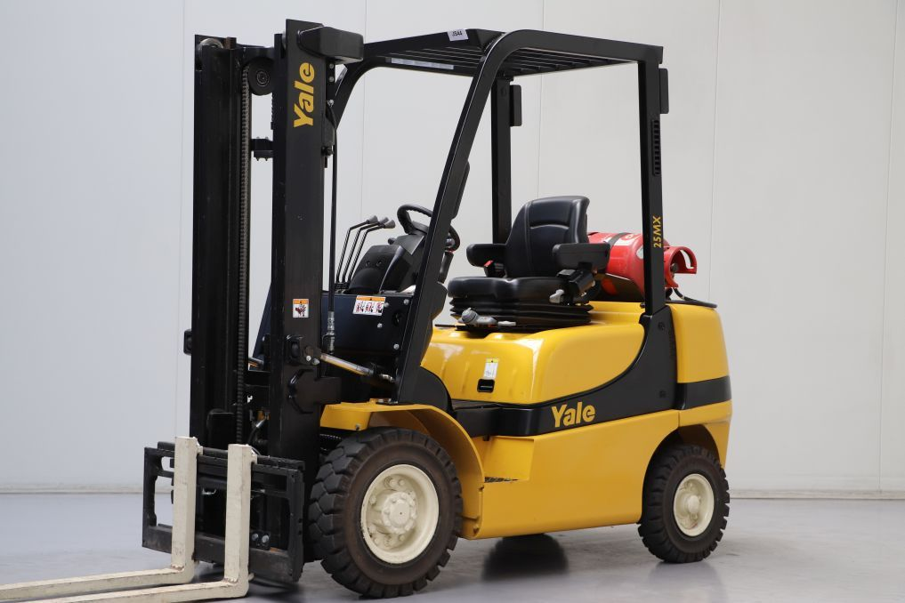 Yale GLP25MX LPG Forklifts www.bsforklifts.com