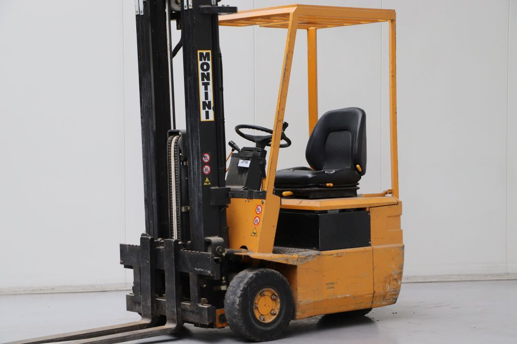 Montini 1203HCE Electric 3-wheel forklift www.bsforklifts.com