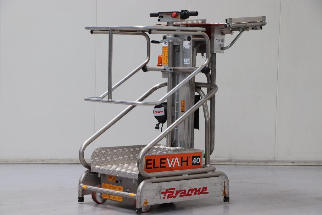 Faraone - Elevah 40 picking Vertical / Personnel Lifts www.bsforklifts.com
