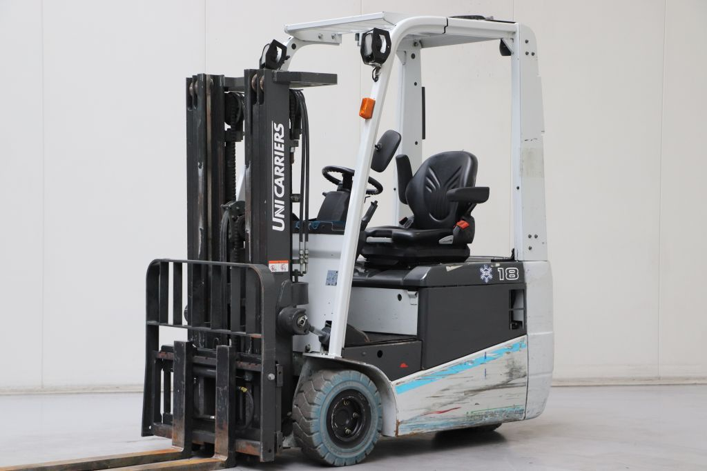UniCarriers A1N1L18Q Electric 3-wheel forklift www.bsforklifts.com