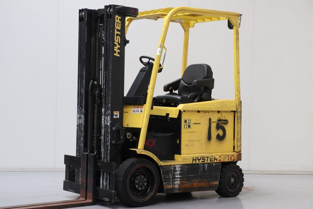 Hyster  Electric 4-wheel forklift www.bsforklifts.com