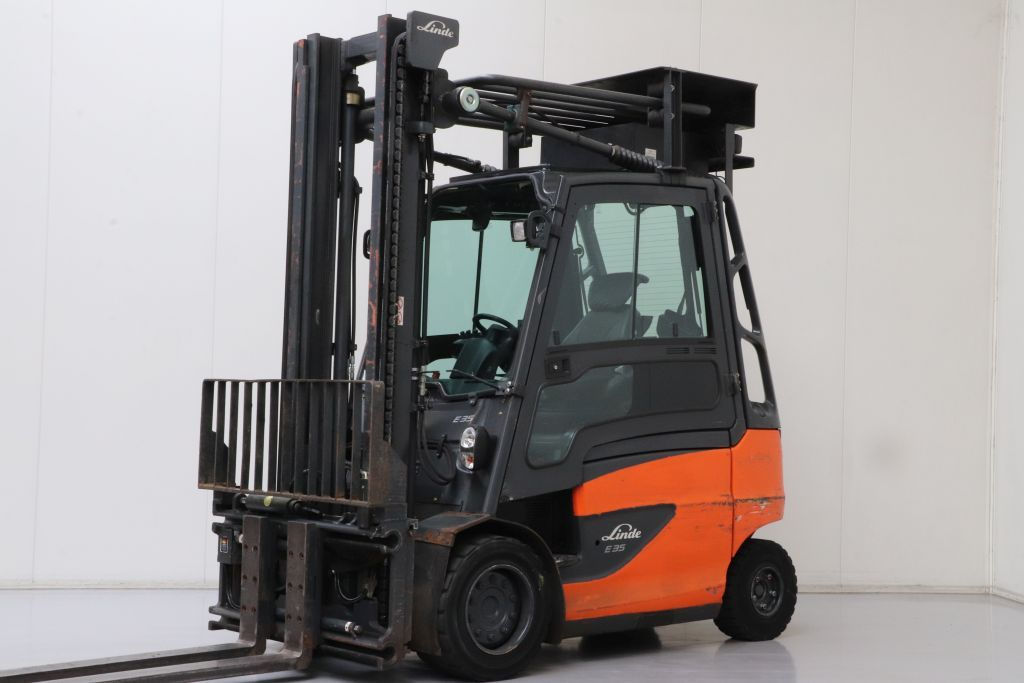 Linde E35H-01/600 Elettrico 4 ruote www.bsforklifts.com