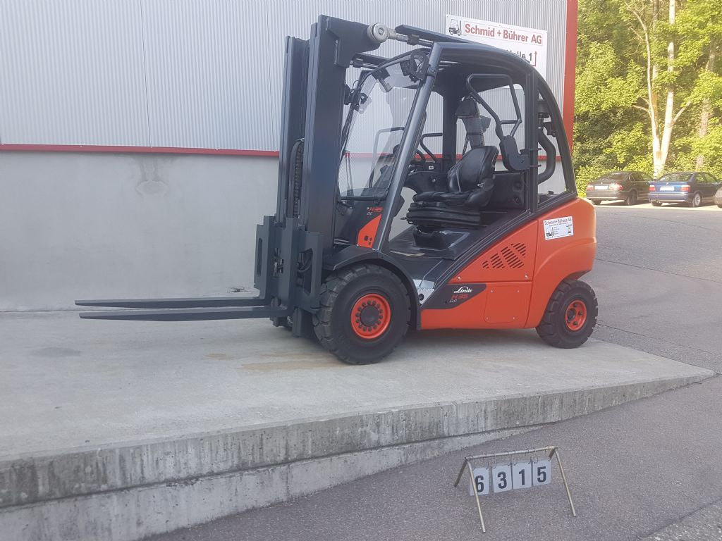 Linde H35D-02 Dieselstapler www.sbstapler.ch