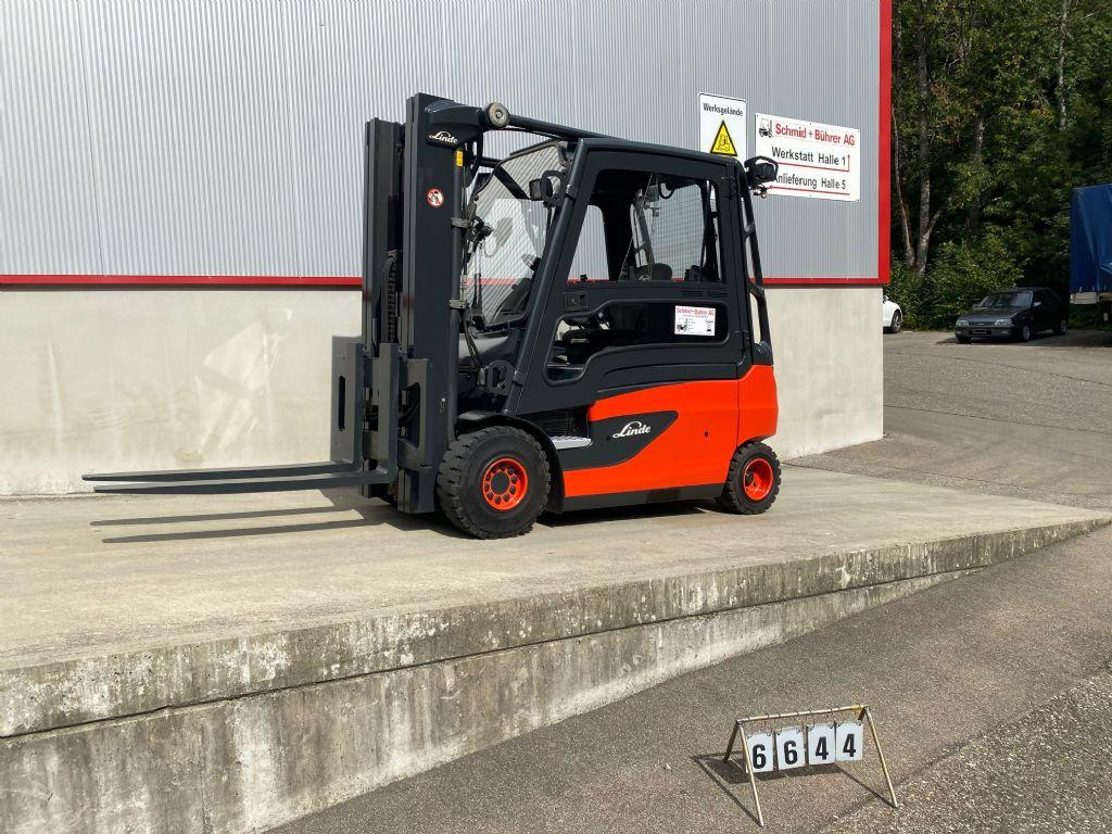 Linde E30L Elektro 4 Rad-Stapler www.sbstapler.ch