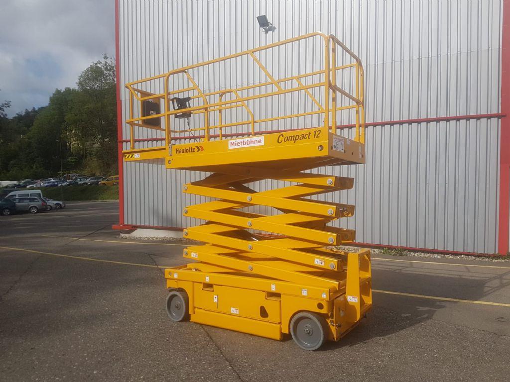Haulotte Compact 12 Scherenarbeitsbühne www.sbstapler.ch
