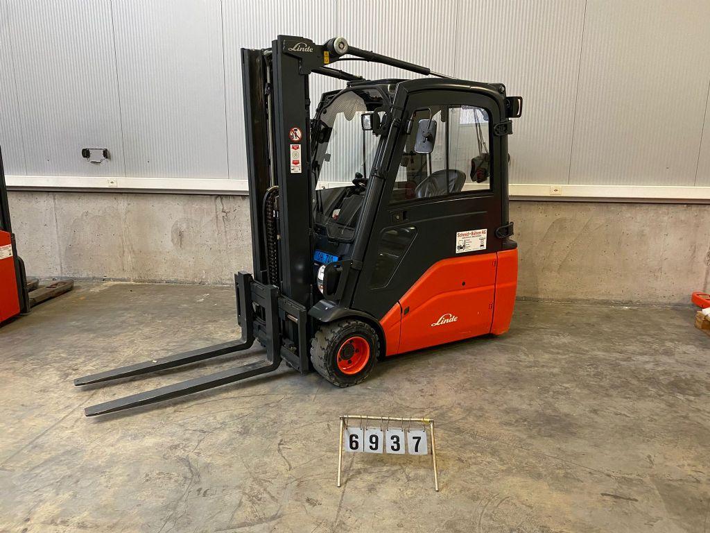 Linde E20L Elektro 3 Rad-Stapler www.sbstapler.ch