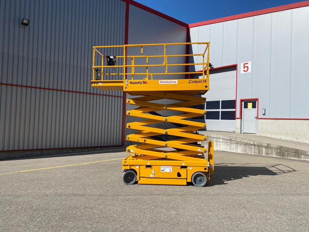 Haulotte Compact 14 Scherenarbeitsbühne www.sbstapler.ch