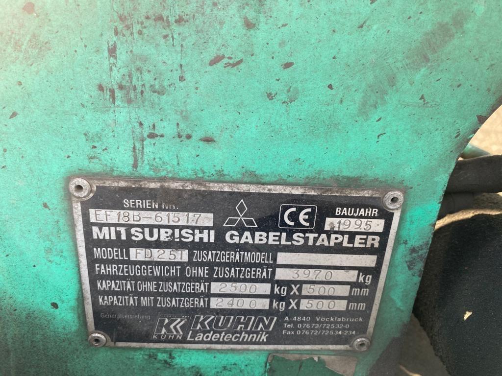Mitsubishi FD25T Dieselstapler www.burgstaller.cc