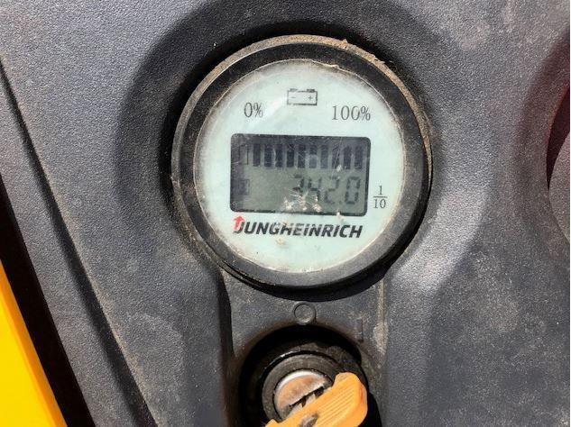 Jungheinrich EJC M 10 Hochhubwagen www.burgstaller.cc